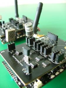 RISER Arduino sensor motes.