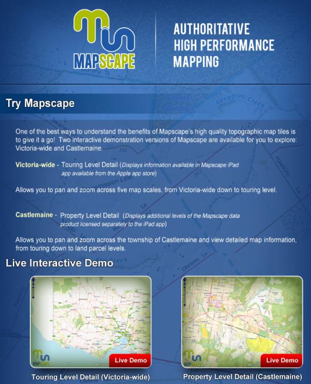 Mapscape